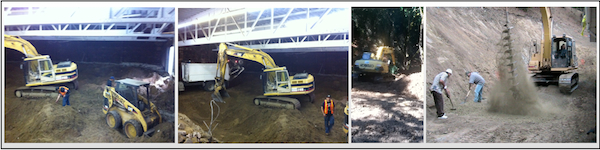 Excavating contractors in pacifica daly city san Rafael california